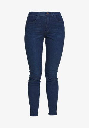 HIGH RISE - Jeans Skinny Fit - deep waters