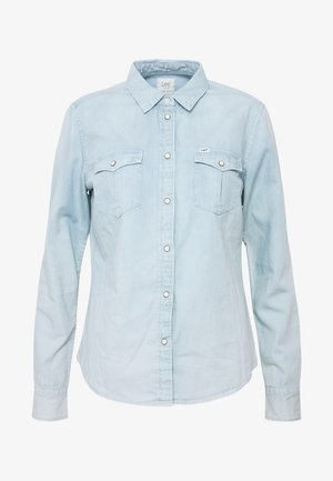 REGULAR WESTERN SHIRT - Koszula - summer blue