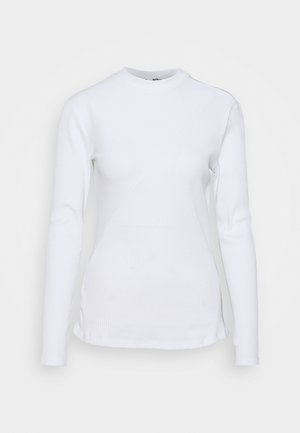 Topper langermet - white