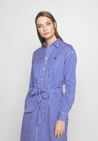 Polo Ralph Lauren - Vestido camisero - blue/white - 3