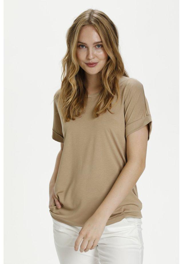 KAJSA - T-shirt - bas - tannin