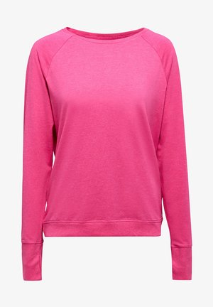 ACTIVE - Long sleeved top - pink fuchsia