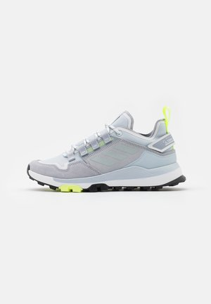 TERREX HIKSTER - Hiking shoes - halo silver/halo blue/core black