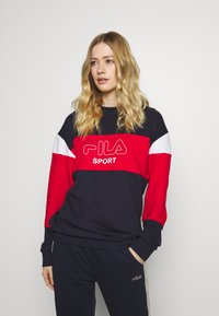 Fila - LANA - Bluza - black iris/true red/bright white - 0