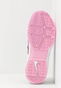 Nike Performance - AIR ZOOM PRESTIGE - Multicourt tennis shoes - bordeaux/white/pink rise - 4