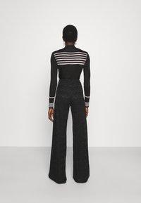M Missoni - TROUSERS - Trousers - black - 2