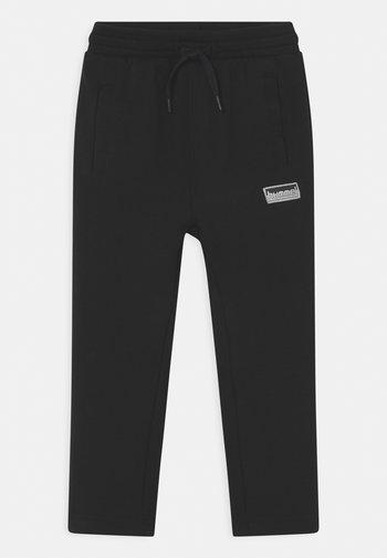 MONO UNISEX - Tracksuit bottoms - black