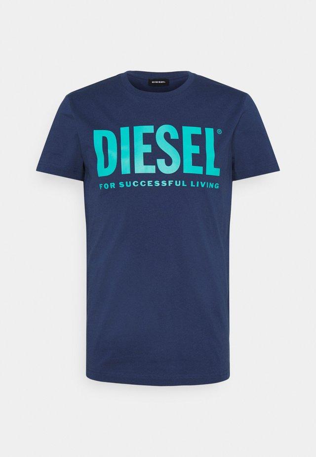 T-DIEGO-LOGO - T-shirt con stampa - blue