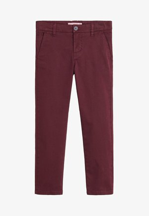 PICCOLO6 - Chino - wine red
