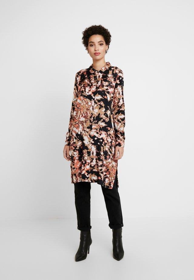 KAFIONIA - Button-down blouse - burnt orange