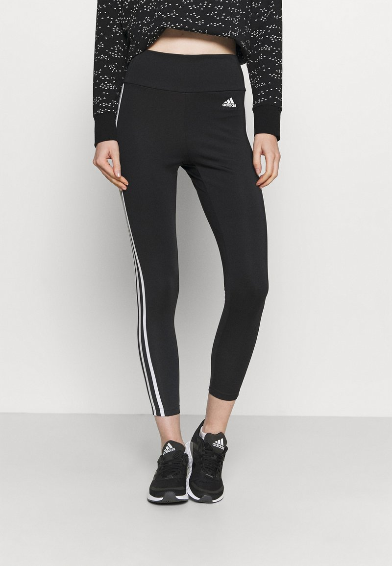 adidas Performance - Tights - black/white