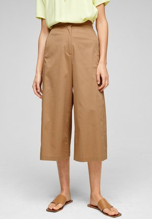 LOOSE FIT  - Trousers - beige