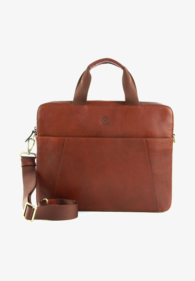 SORTLAND - Briefcase - brown