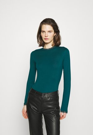 Long sleeved top - teal