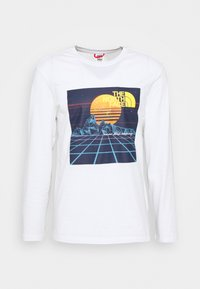 The North Face - THROWBACK TEE  - Top s dlouhým rukávem - white - 3