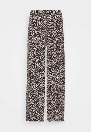 VMSAGA WIDE PANT - Trousers - oatmeal/linea