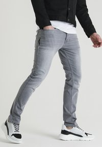 CHASIN' - Straight leg jeans - grey - 1