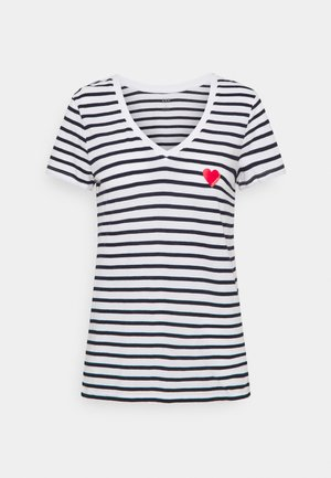Camiseta estampada - heart navy