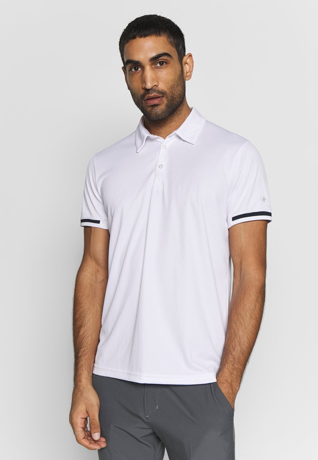 BRASSIE - Polo shirt - white