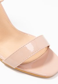 Simply Be - WIDE FIT - Sandaler med høye hæler - nude - 2