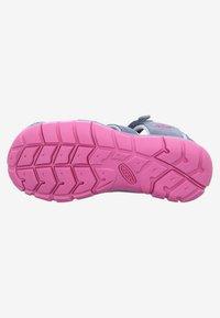 Keen - SEACAMP - Sandals - grey/rose - 3