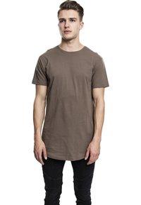 Urban Classics - SHAPED LONG TEE DO NOT USE - T-shirt - bas - army green - 5