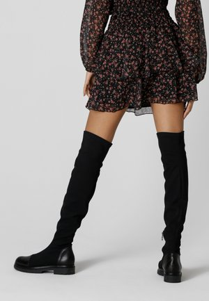 GEMMA - Mini skirt - schwarz