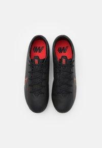 Nike Performance - MERCURIAL VAPOR 13 ACADEMY FG/MG - Moulded stud football boots - black/dark smoke grey - 3