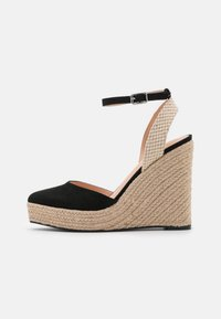 Even&Odd - Platform sandals - black - 1