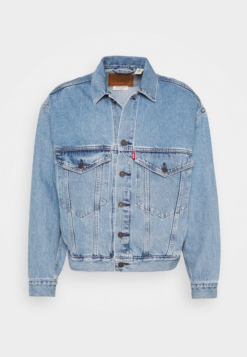 Levi's® - STAY LOOSE TRUCKER - Kurtka jeansowa - hang loose trucker