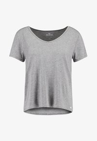 Hollister Co. - SHORT SLEEVE EASY TEE - Jednoduché triko - grey - 4