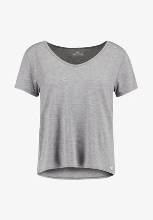 SHORT SLEEVE EASY TEE - T-shirt basique - grey