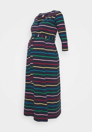 RICO WRAP DRESS - Jersey dress - indigo