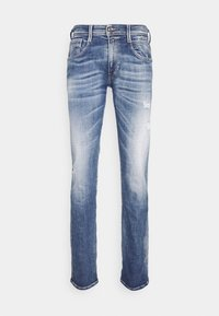 Replay - ANBASS AGED - Jeans Skinny Fit - medium blue - 4