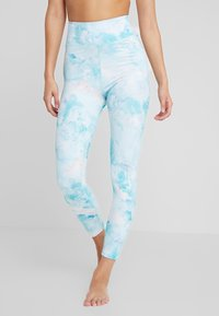 Rojo - WOMENS FULL LENGTH PANT - Calzamaglia - light blue - 0