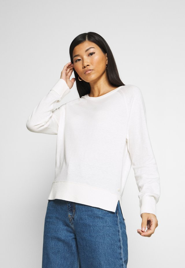 RAGLAN SLEEVE - Jersey de punto - off white