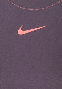 Nike Sportswear - DRESS - Vestido largo - dark raisin/bright mango - 7