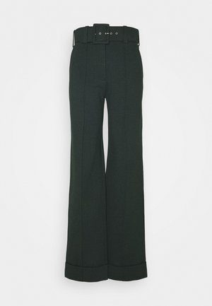 BELTED TROUSER - Kalhoty - ivy green