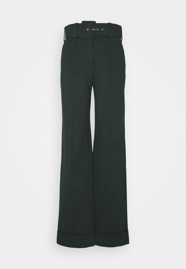 BELTED TROUSER - Bukse - ivy green