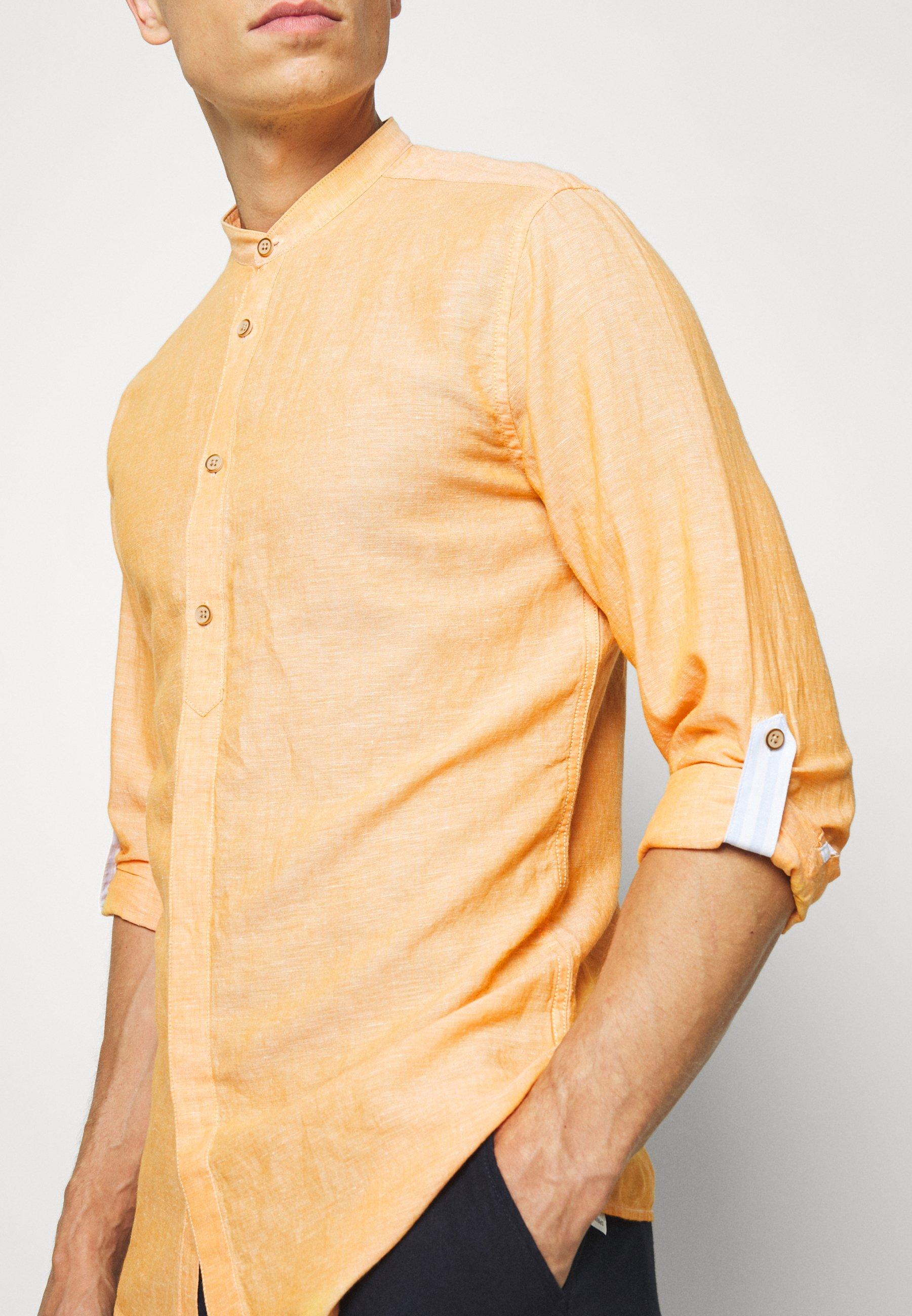 Springfield MAO ROLLUP Skjorte orange Zalando.no
