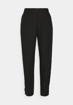 CITRIENNE TROUSERS - Bukse - black