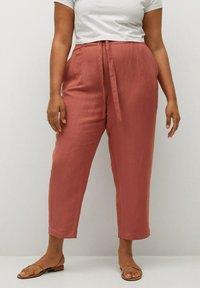 Violeta by Mango - COTILI8 - Trousers - pink - 0