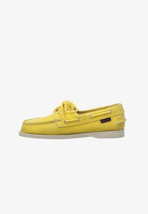 Boat shoes - yellow mimosa