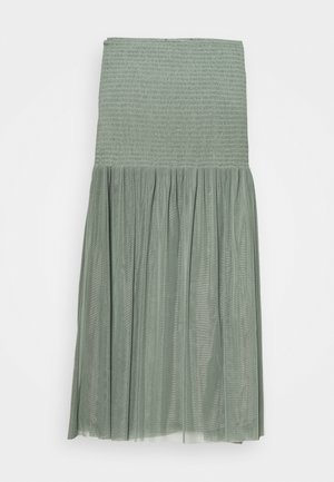 THORA MEXA SKIRT - Áčková sukně - moss