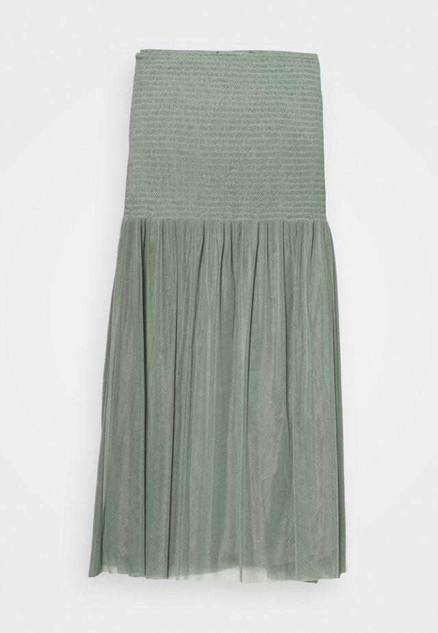 THORA MEXA SKIRT - A-line skirt - moss