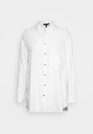 Button-down blouse - antique white
