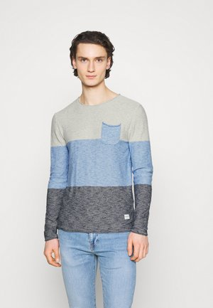 JORACTION CREW NECK - Stickad tröja - palace blue/navy blazer