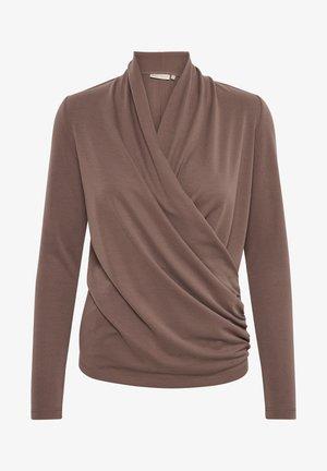 Long sleeved top - sandy grey