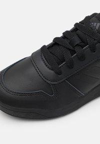 adidas Performance - TENSAUR - Sports shoes - core black/grey six - 5