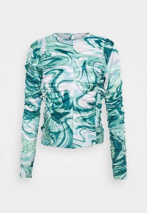 ASTA LONG SLEEVE - Top s dlouhým rukávem - green liquid